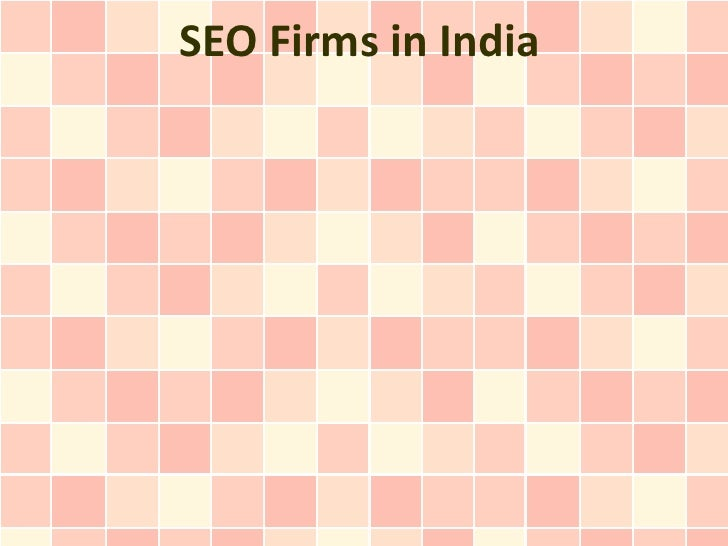 SEO Firms in India
