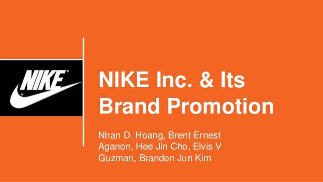 nike inc and brand promotion