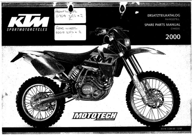 manual ktm 520 rh slideshare net