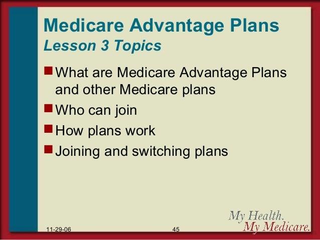 Medicare Parts A Thru D