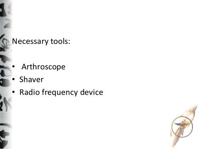 Technique of bursectomy Slide 2