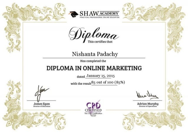 in online marketing hd diploma in online marketing hd
