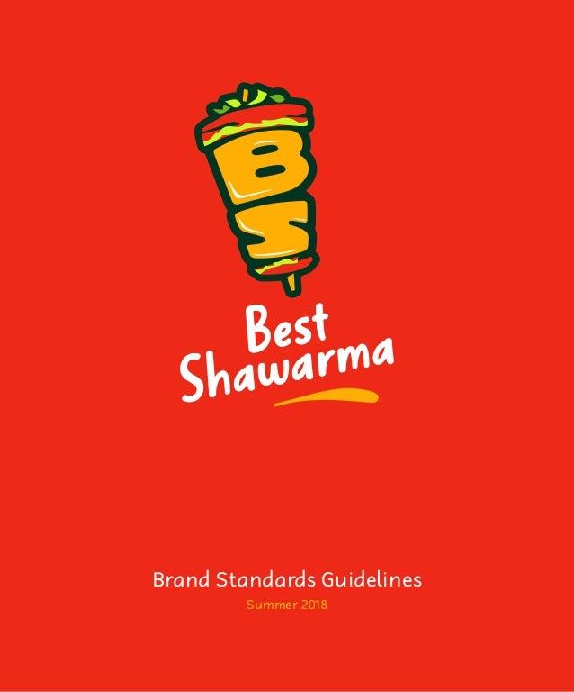 Brand Standards Guidelines Summer 2018