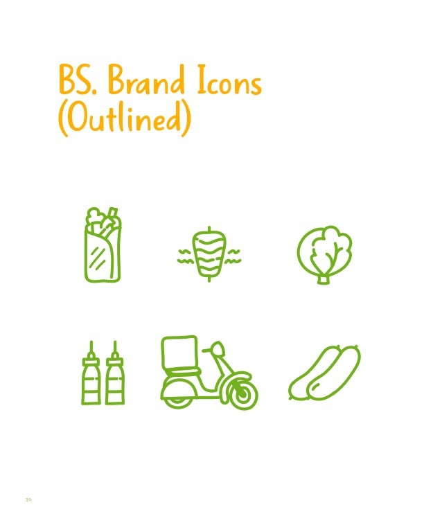 Product Packaging Visual guidelines on how our product should be packaged.