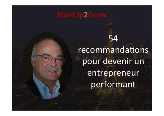 54 recommanda,ons pourdevenirun entrepreneur performant 1