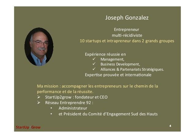 JosephGonzalez  Entrepreneur mul,-récidiviste 10startupsetintrapreneurdans2grandsgroupes  Expérienceréussi...
