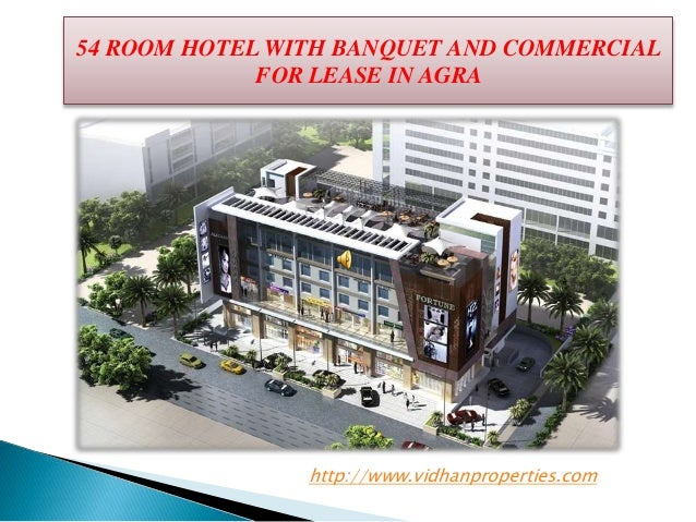 54 ROOM HOTEL  AVAILABLE ON LEASE IN AGRA  Slide 2