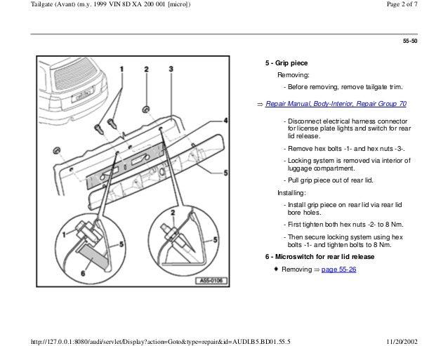 audi a4 b5 18l 1996 bady 55 49 tailgate avant vin 8 d xa 200 001 2 638?cb\\\\\\\=1437466736 bentley audi a8 blower motor wiring diagram,audi \u2022 edmiracle co  at crackthecode.co