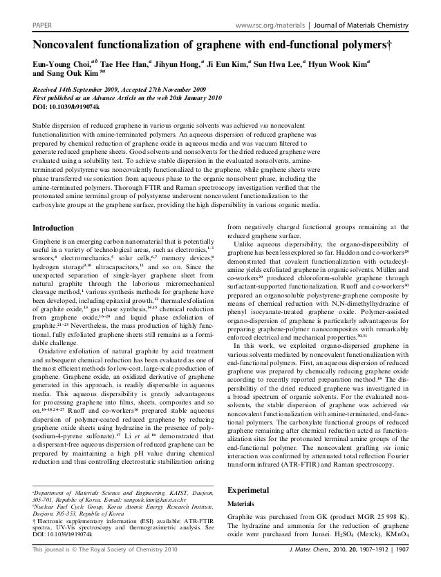 PAPER                                                                   www.rsc.org/materials | Journal of Materials Chemi...