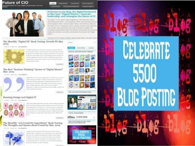 "The ""Future of CIO"" 5500 Blog Posting Celebration Slide 2"