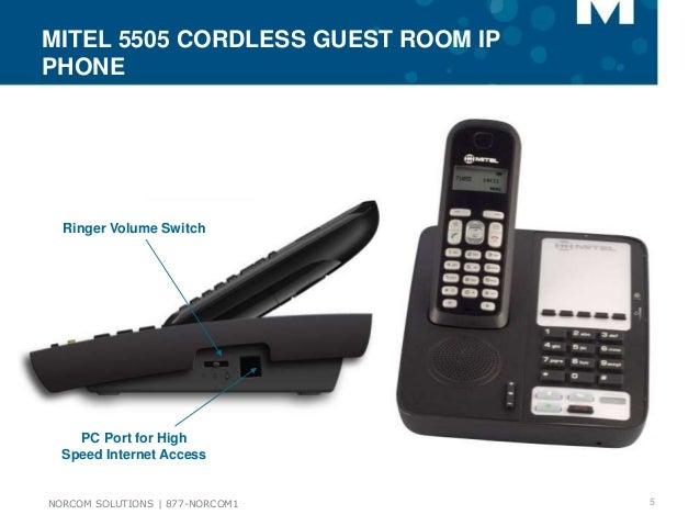 Mitel MiVoice 5505 Guest IP Phone