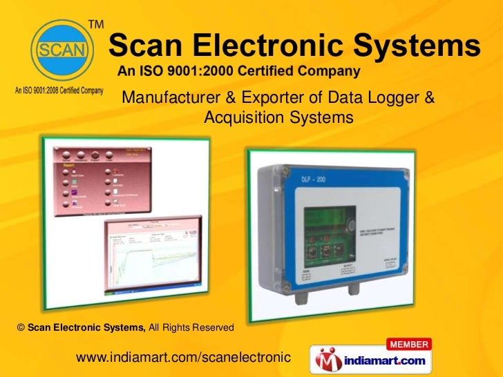 Manufacturer & Exporter of Data Logger & Acquisition Systems<br />