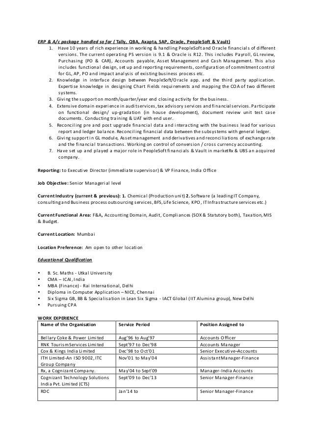resume ad 2015