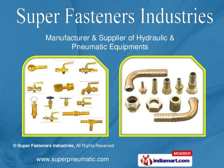 Manufacturer & Supplier of Hydraulic & <br />Pneumatic Equipments<br />