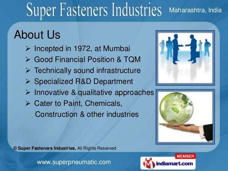 Brass Pipe Fittings & Compression Fittings by Super Fasteners Industries Mumbai Slide 2
