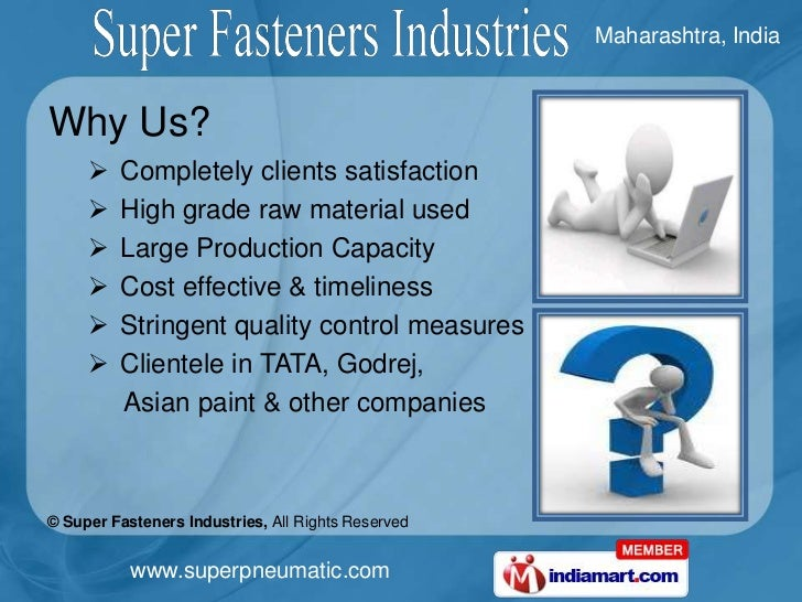 Brass Pipe Fittings & Compression Fittings by Super Fasteners Industries Mumbai Slide 3