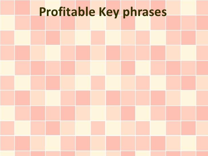 Profitable Key phrases