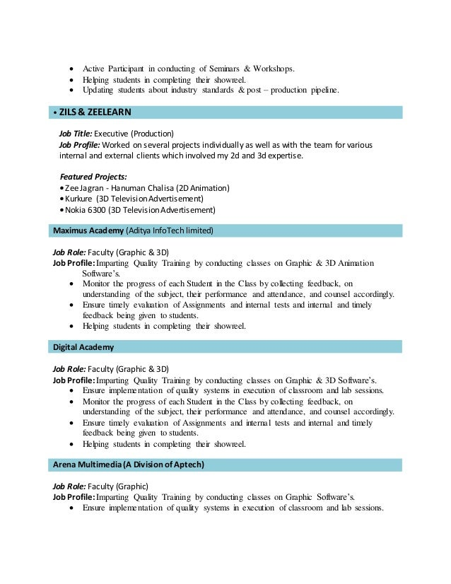 vishal rao resume
