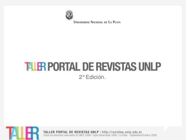 2° Edición.