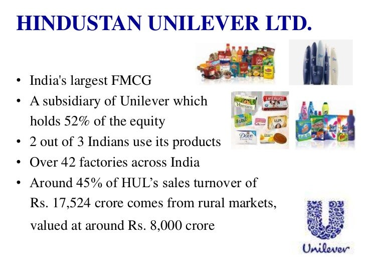 price elasticity in demand in hindustan unilever limited Creating demand & brand loyalty p&g  (a subsidiary of the british/dutch unilever), and hindustan lever  consumers' primary needs are price and.