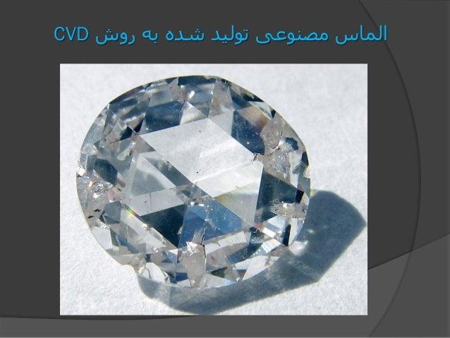 روش به شده تولید مصنوعی الماسCVD