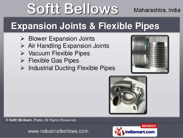 Expansion Joints & Flexible Pipes     Blower Expansion Joints     Air Handling Expansion Joints     Vacuum Flexible Pip...