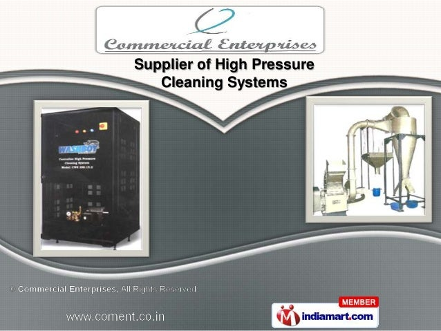 Supplier of High Pressure   Cleaning Systems