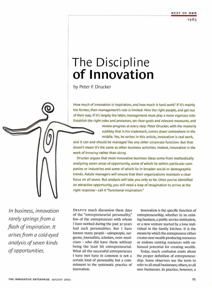 5579 creativity-the-discipline-of-innovation-by-drucker-peter