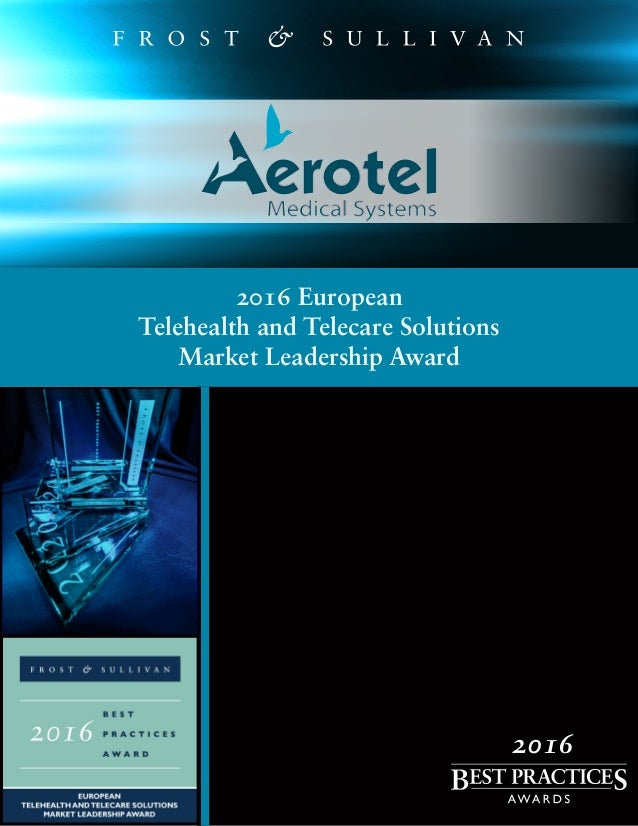 2016 European Telehealth and Telecare Solutions Market Leadership Award 2016
