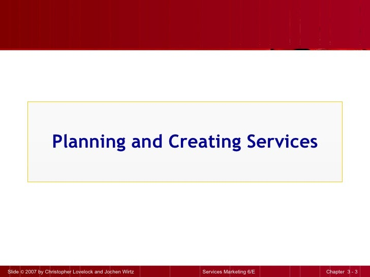 Planning and Creating Services