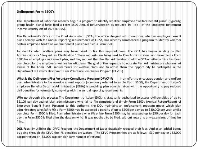 Adara LLC - Form 5500 Preparation