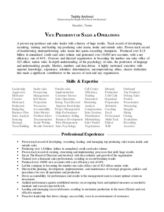 Linked in JOB DESCRIPTION VP Linkedin
