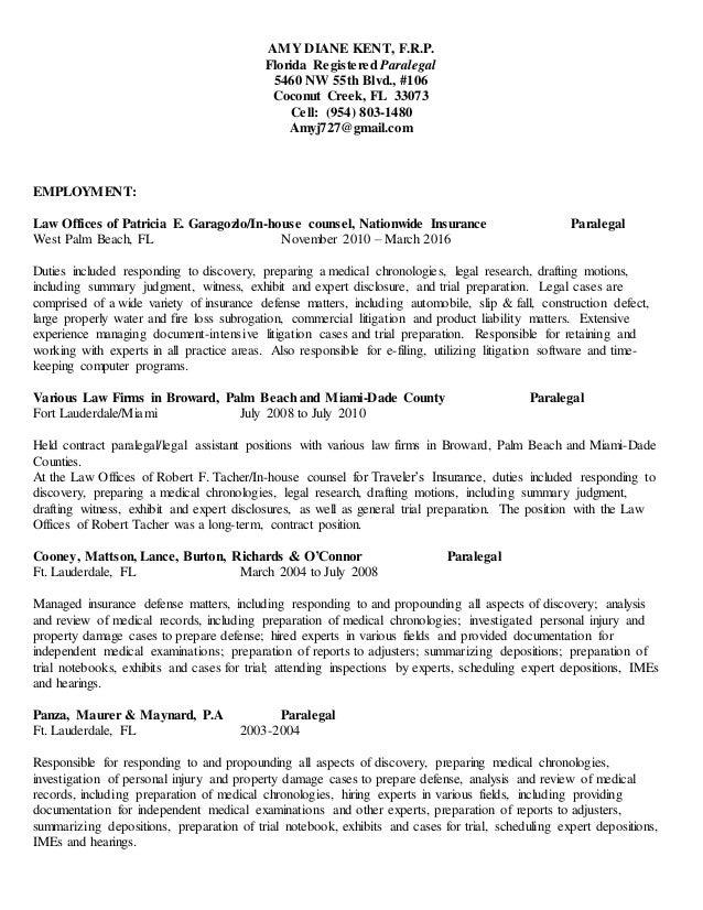 a kent resume april 2016 ins def
