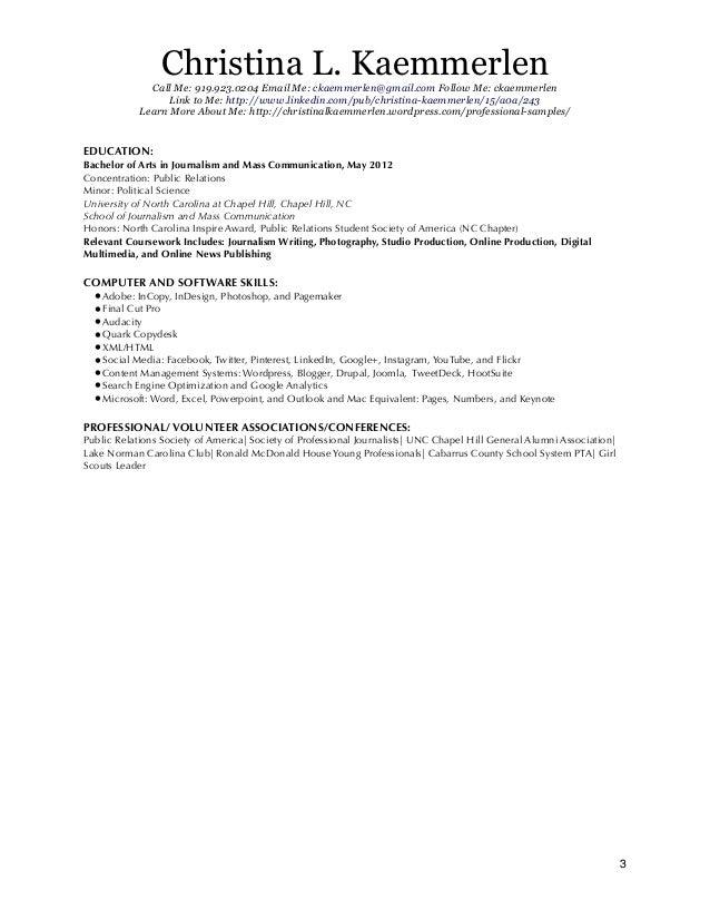 Lisacampbell Resume Sample