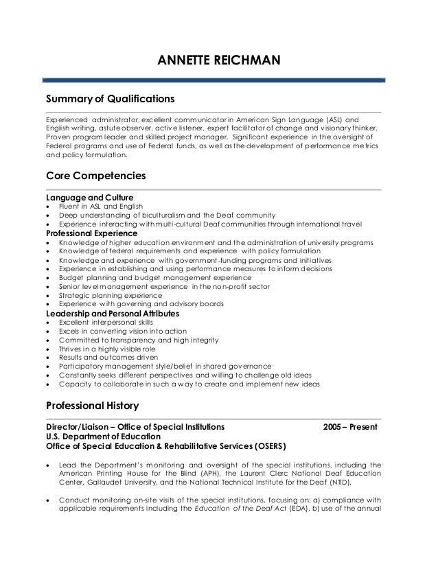 resume annette reichman 8