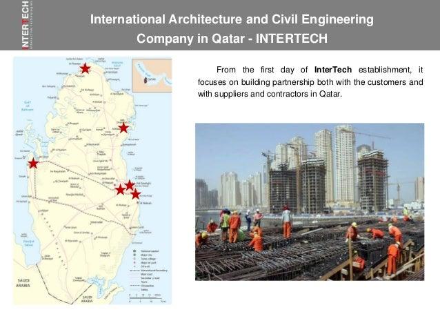 InterTech is top mep contracting company in Qatar