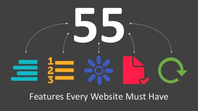 Features Every Website Must Have