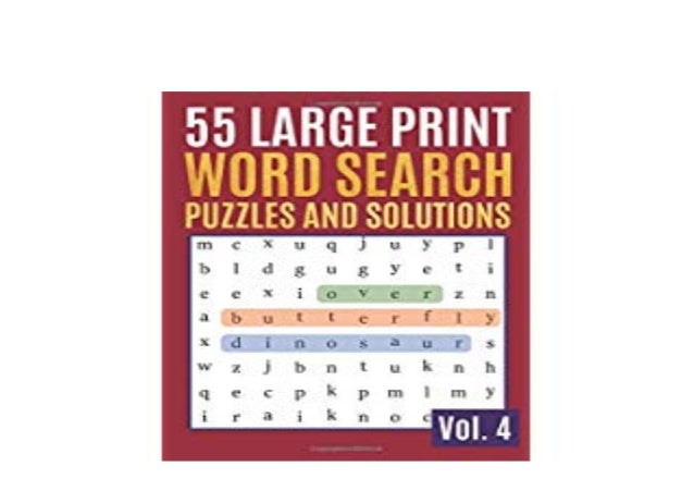 Download]_p.d.f Library$@@ 55 Large Print Word Search Puzzles And So…