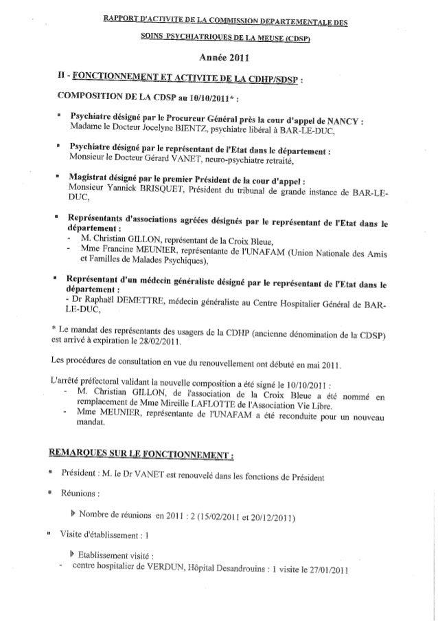 55 rapport activité cdsp 2011