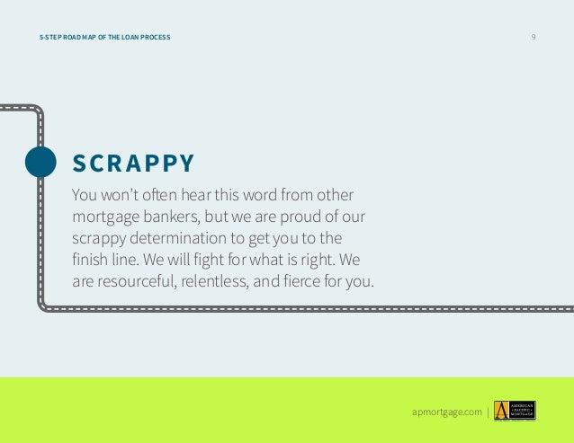 Roadmap of the Mortgage Loan Process – Roadmap of