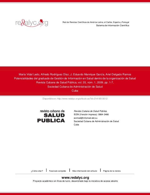 Disponible en: http://www.redalyc.org/articulo.oa?id=21418513012 Red de Revistas Científicas de América Latina, el Caribe,...