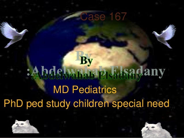 Case 167 MD Pediatrics PhD ped study children special need