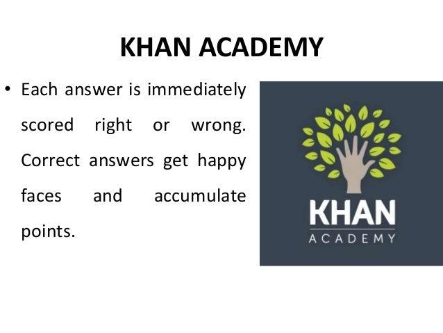 Khan Academy - Gamification in education - Manu Melwin Joy