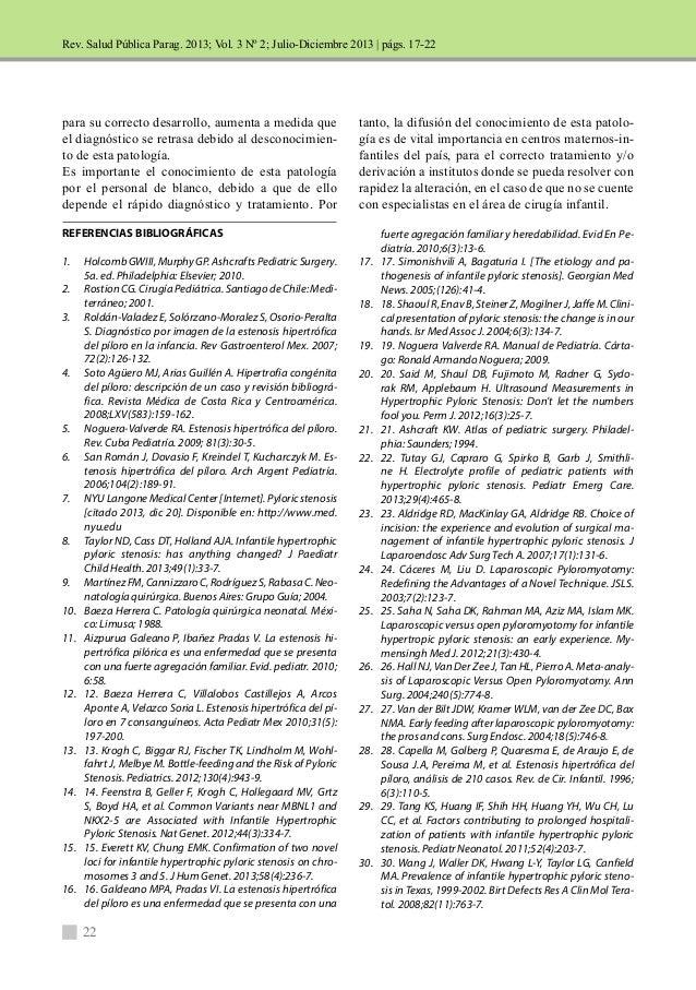 Rev. Salud Pública Parag. 2013; Vol. 3 Nº 2; Julio-Diciembre 2013 |  para su correcto desarrollo, aumenta a medida que  el...