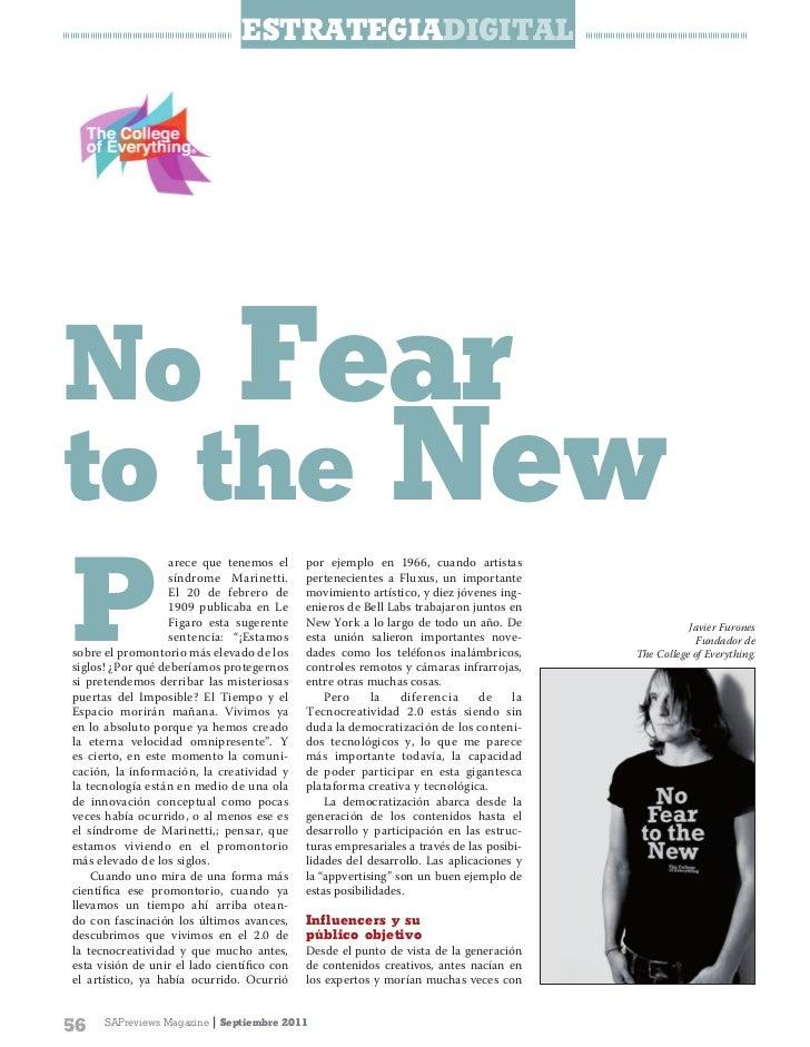 EstratEgiaDigitalNo Fearto the NewP                   arece que tenemos el      por ejemplo en 1966, cuando artistas      ...