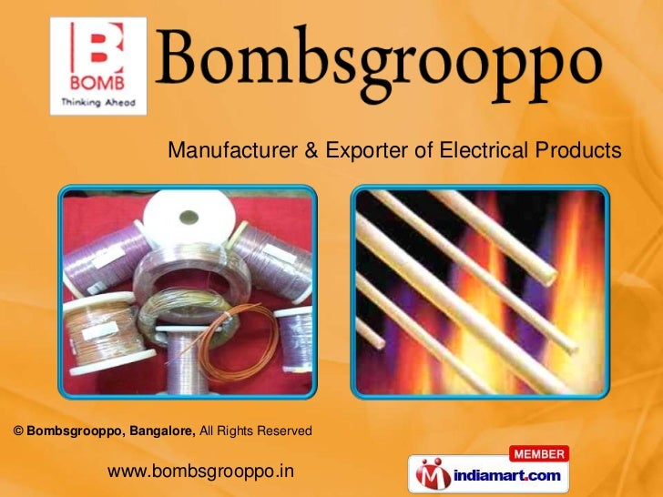 Manufacturer & Exporter of Electrical Products<br />