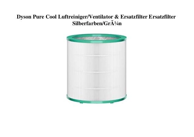 Dyson Pure Cool Luftreiniger/Ventilator & Ersatzfilter Ersatzfilter Silberfarben/Grün