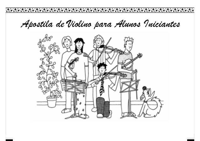 Apostila de Violino para Alunos Iniciantes