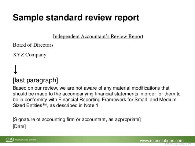 Innovative Financial Reporting Option from small and mid-sized privat…