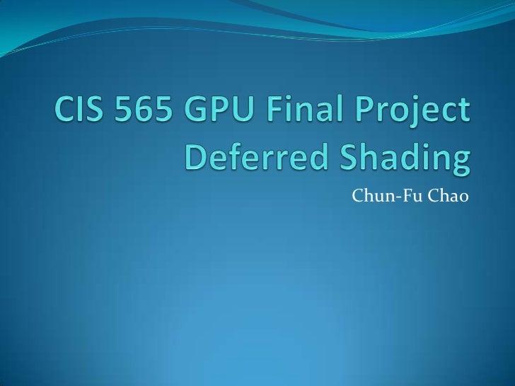 Chun-Fu Chao